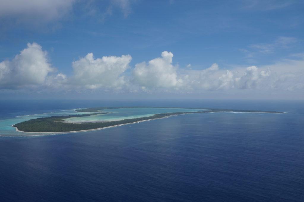 タヒチ ボラボラ島 ツパイ島