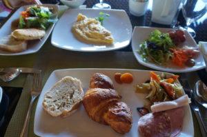 ランギロア島 朝食