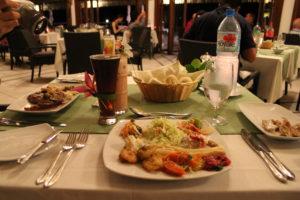 ランギロア島 夕飯