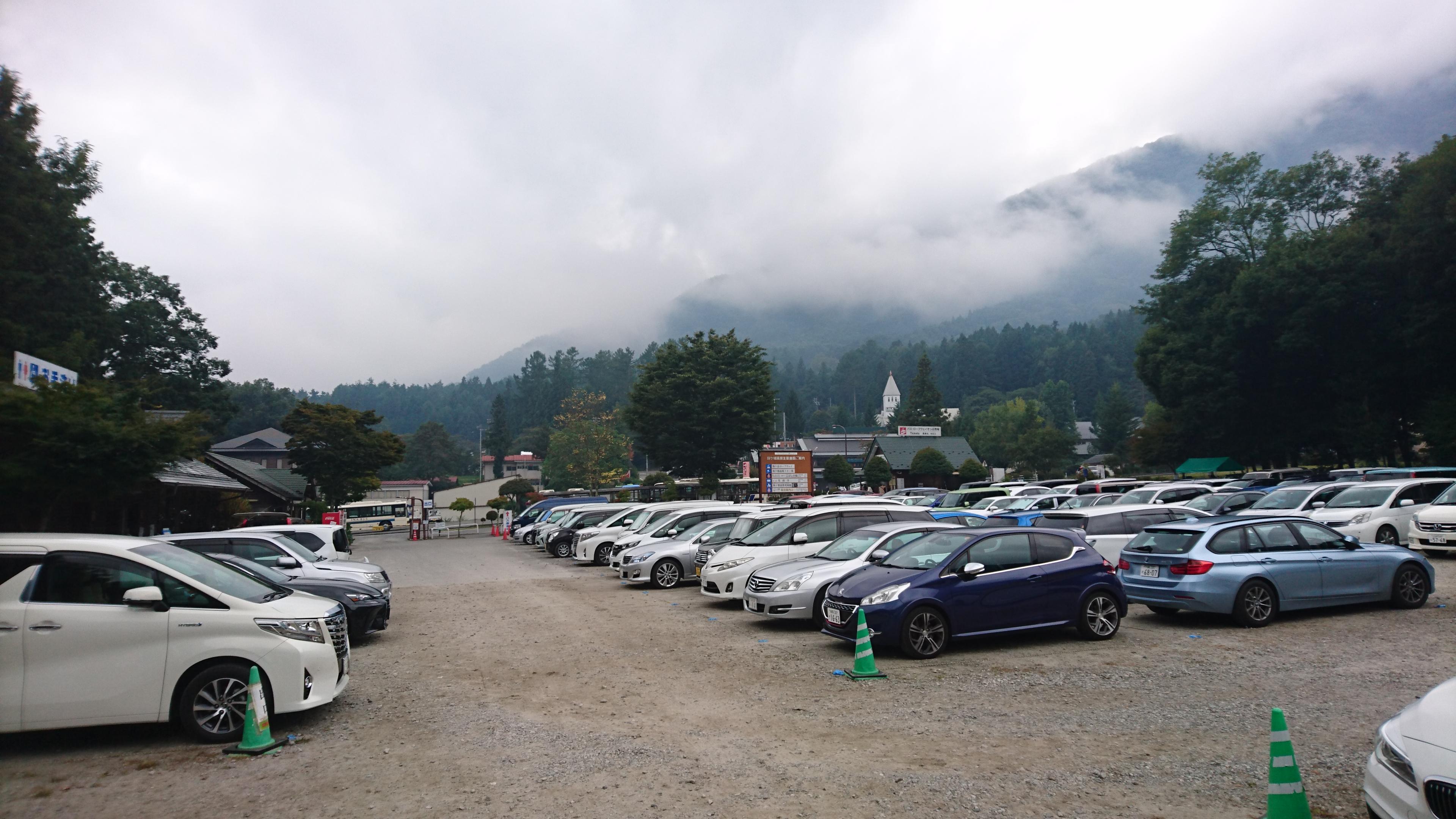 菅の平駐車場